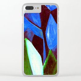 Vladimir Burliuk Trees Clear iPhone Case