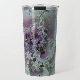 Cabbage Fractal Travel Mug