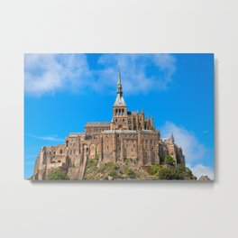 Mont Saint-Michel Metal Print