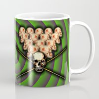 games Mugs featuring Heads will roll! by Alan Hogan