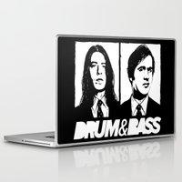 nirvana Laptop & iPad Skins featuring Nirvana DNB by Grym Life