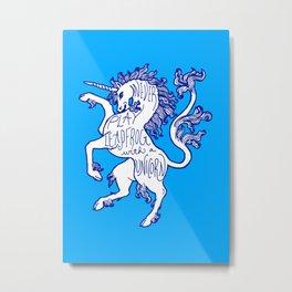 Advice Regarding Unicorns #1 Metal Print