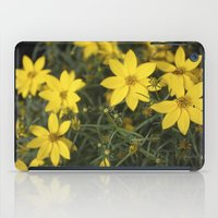rileigh smirl iPad Cases featuring Yellow Flowers by Rileigh Smirl