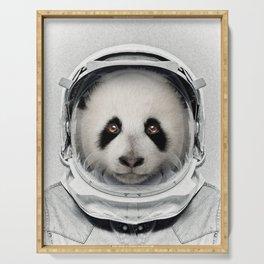Panda Astro Bear Serving Tray