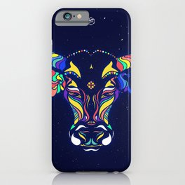 Cow or Bull by #Bizzartino iPhone Case