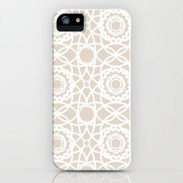 Palm Springs Macrame Lattice Lace iPhone Case