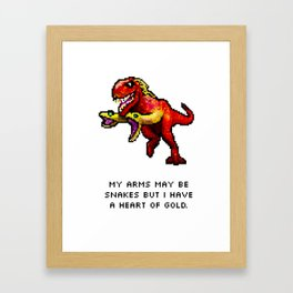 Don't Judge Me! Framed Art Print