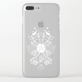Bouquet of the Sea Clear iPhone Case