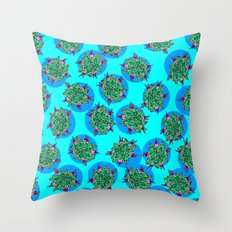 GermFlower Wallpaper (Chills) Throw Pillow
