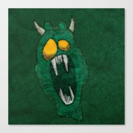 Demon Inside Canvas Print