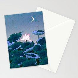 Minhwa: Lotus Pond at Night B Type Stationery Cards