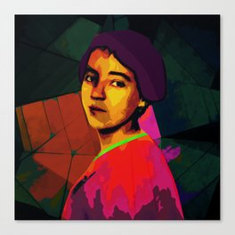 Anita Malfatti, revolutionary; Canvas Print