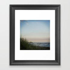 Folly Beach Pier Framed Art Print