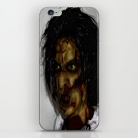 zombie iPhone & iPod Skins featuring Zombie!!  by Jake Stanton