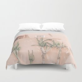 Vintage Los Angeles Duvet Cover