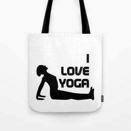 I Love Yoga Gift Tote Bag