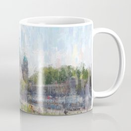 Berlin, Mitte cityscape painting Coffee Mug