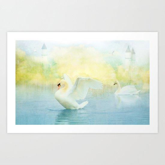 Mystical Dance Art Print