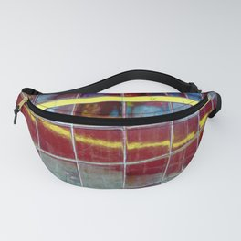 Two Yellow Lines Fanny Pack