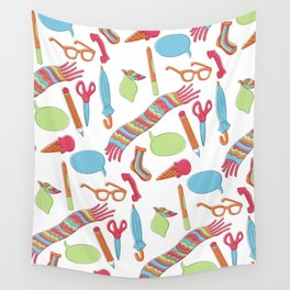 Quirky Pattern Wall Tapestry