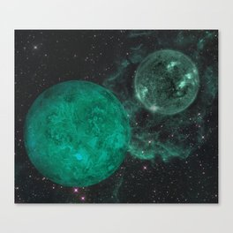 Cerulean the Wandering Star Canvas Print