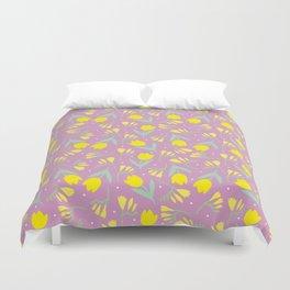 Tulip & Freesia Duvet Cover