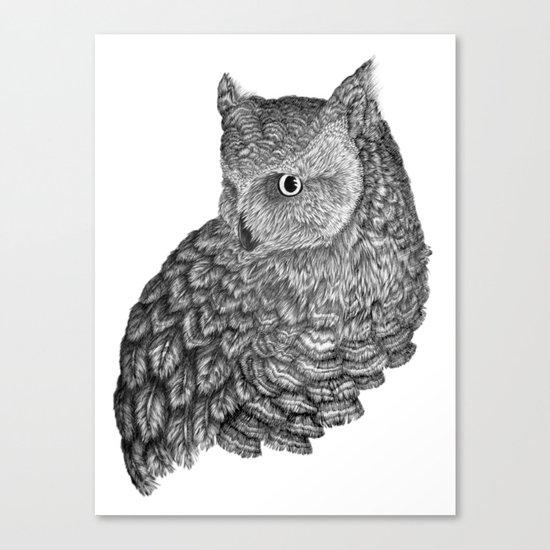 A Friend for Forsythe Canvas Print