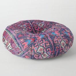 Baluch Khorasan Northeast Persian Rug Print Floor Pillow