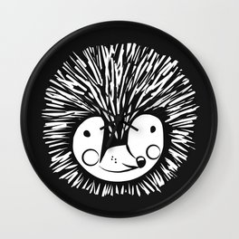 African pygmy hedgehog Wall Clock