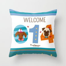 Welcome 014 Throw Pillow