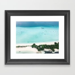 Robinson Crusoe style Framed Art Print