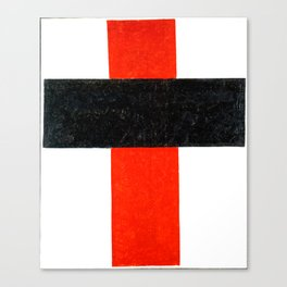 Kazimir Malevich - Hieratic Suprematist Cross (new editing) Canvas Print