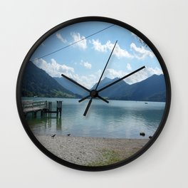 Lake Schliersee Wall Clock