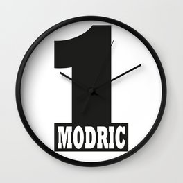 Luka Modric named number 1 of the world Wall Clock