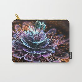 Colorful Fractal Flower - Fractal Artwork Carry-All Pouch