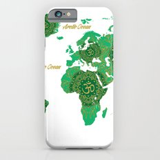 Lotus Mandala World Map Slim Case iPhone 6s