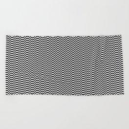 Wavelength of Life Beach Towel