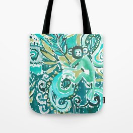 MONKEY TRICKSTER - JADE Tote Bag