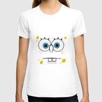 spongebob T-shirts featuring Spongebob Surprised Face by Cute Cute Cute