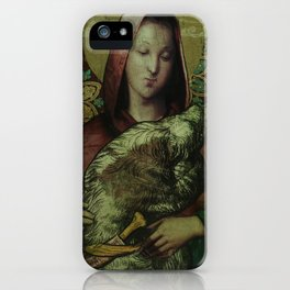 Red Riding Hood and Wolf iPhone Case