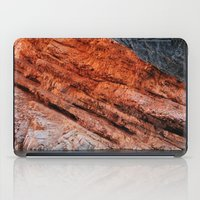 greg guillemin iPad Cases featuring Orange rock - Greg Katz by Artlala for MSF Doctors Without Borders