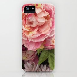 Oil Paint Flower iPhone Case