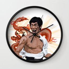 The Good Dragon Wall Clock