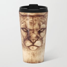 Cougar Metal Travel Mug