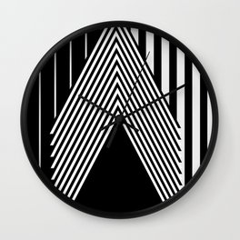 StandOut by Kimberly J Graphics Wall Clock