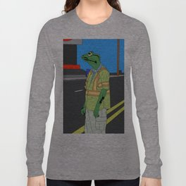 Frog Loneliness Long Sleeve T-shirt