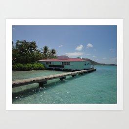 Pusser's Marina Cay, British Virgin Islands Art Print