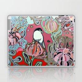 Red Protea Sunset Bird Laptop & iPad Skin