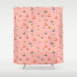 Surf kids Shower Curtain
