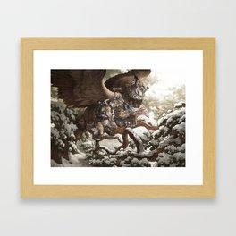 Lynx Mail Framed Art Print